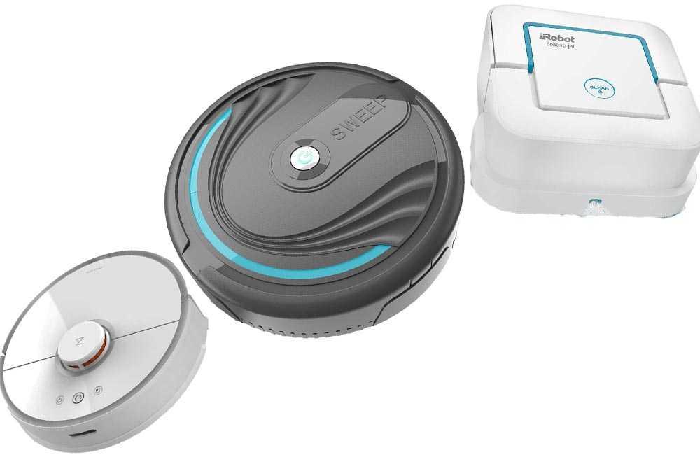 Робот пылесос xiaomi mi robot vacuum mop essential