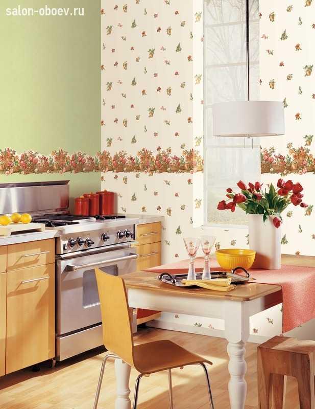 Какие обои подойдут для кухни Что учитывать при покупке Ответы в статье