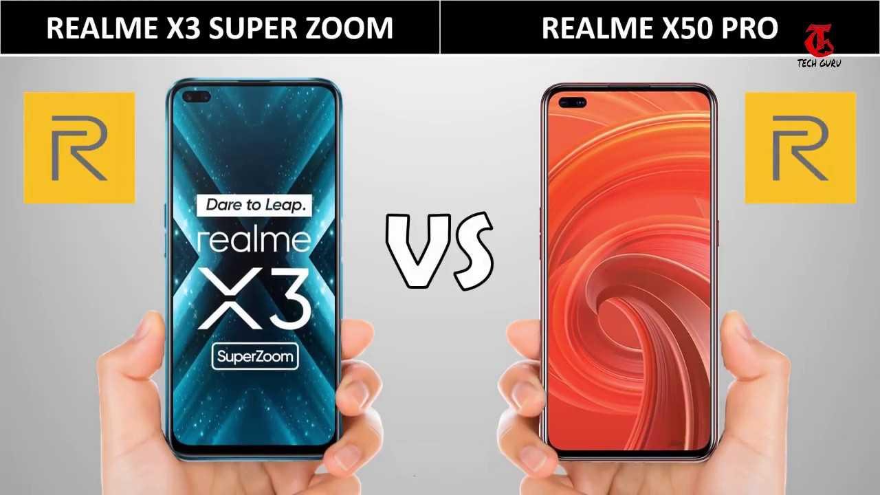 Realme x3 super zoom vs oneplus 8