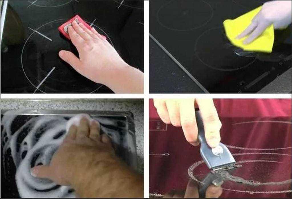 Как очистить стеклокерамическую плиту от нагара в домашних условиях