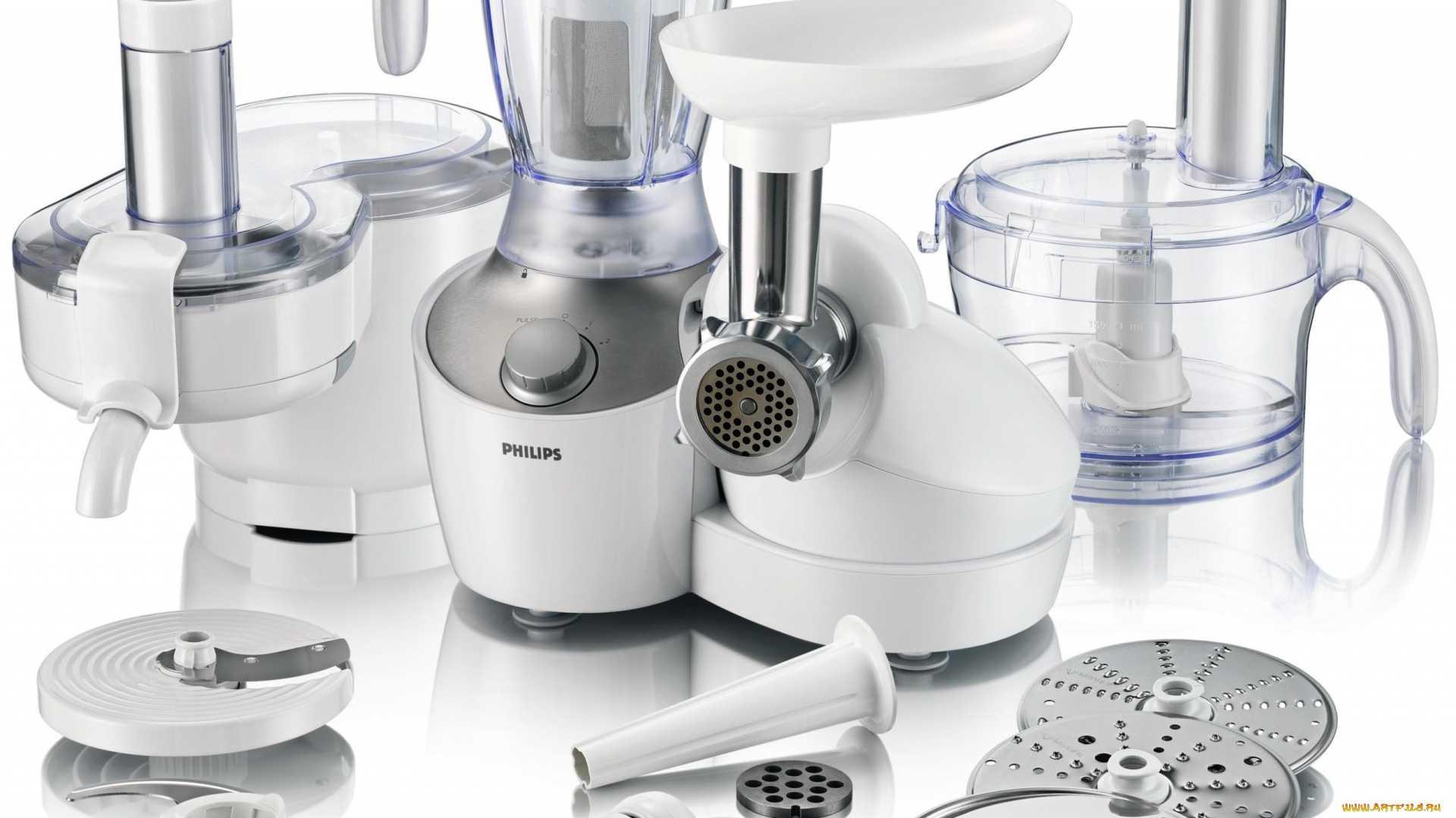 Отличия кухонной машини от кухонного комбайна