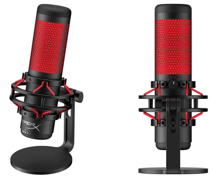 Hyperx quadcast микрофоны
