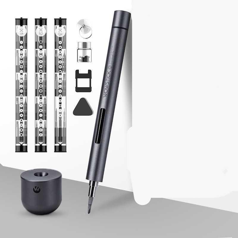 В продаже появилась новая модель электрической отвертки серии Xiaomi WOWSTICK SD Продукт будет стоить в районе 43 долларов на территории Европы и СНГ В Китае этот