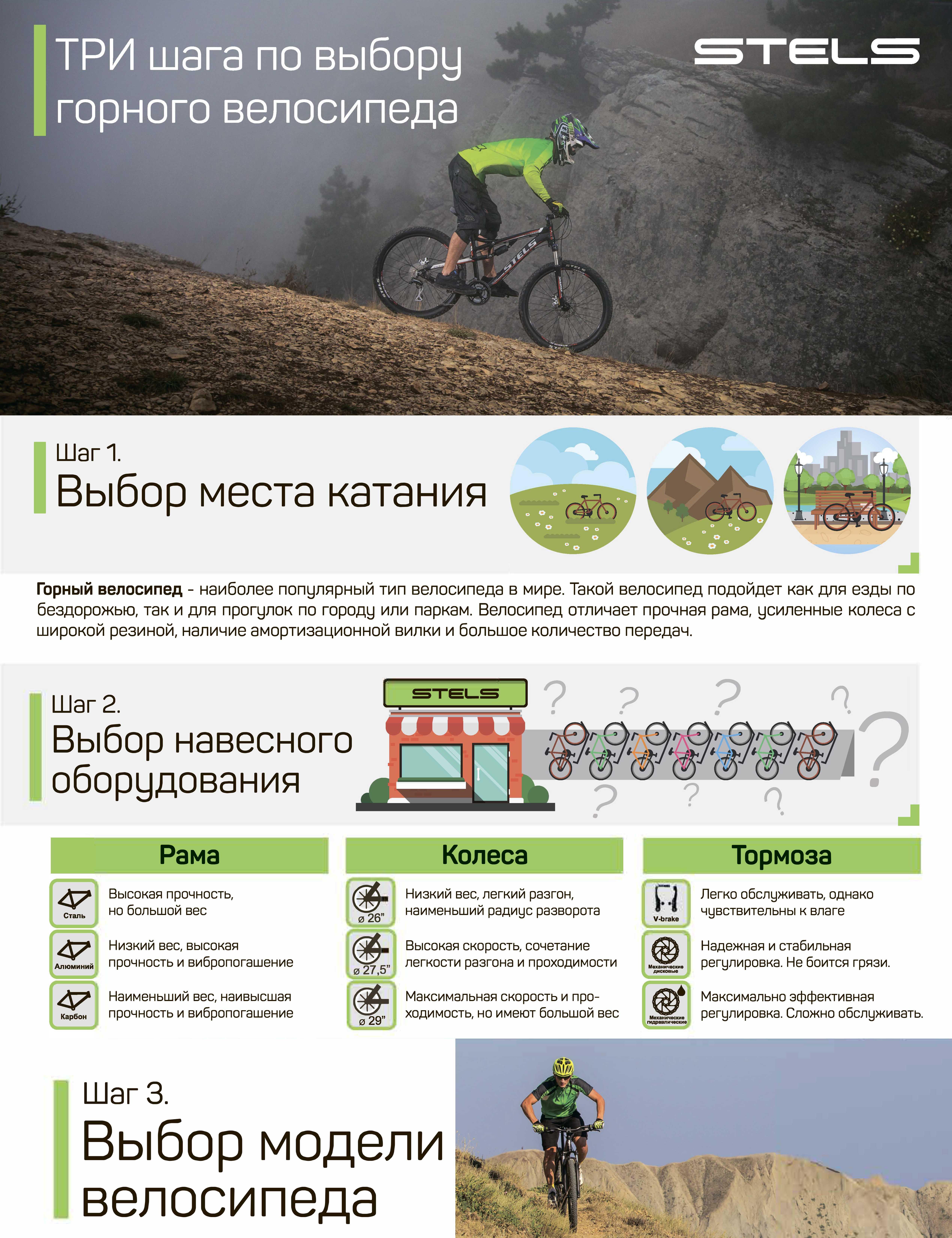 Размер велосипеда. как выбрать правильно