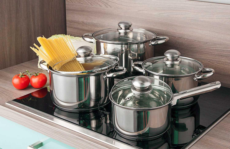 Выбирайте кастрюлю из нержавеющей стали правильно В статье представлена информация на счет выбора производители качественной посуды