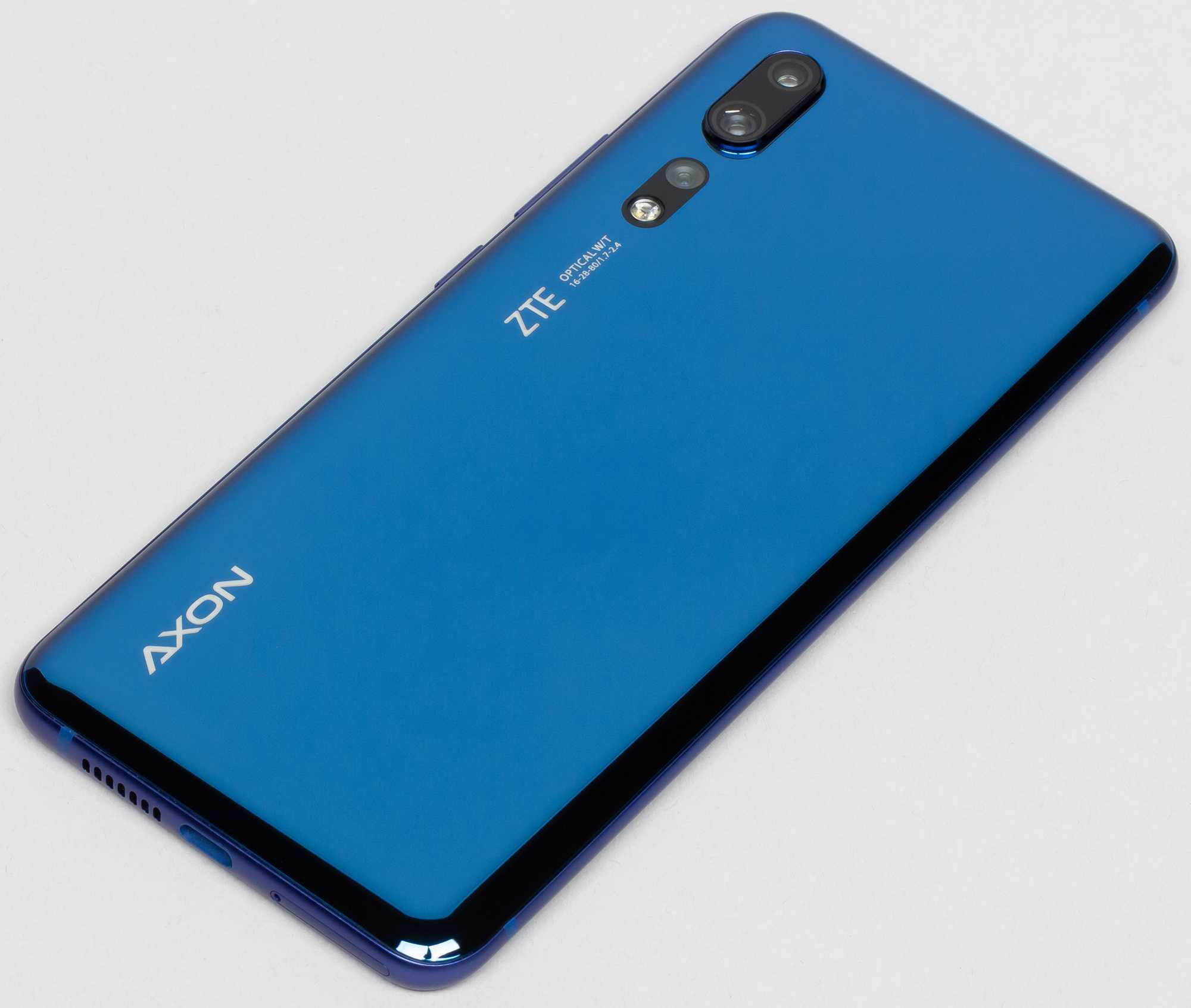 Zte axon 10 pro 5g: красивый, мощный и быстрый / мобильные устройства / новости фототехники