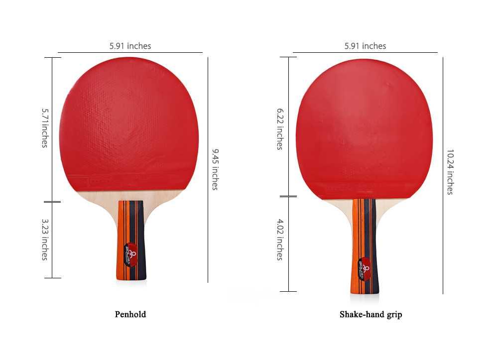 Лучшие ракетки для настольного тенниса