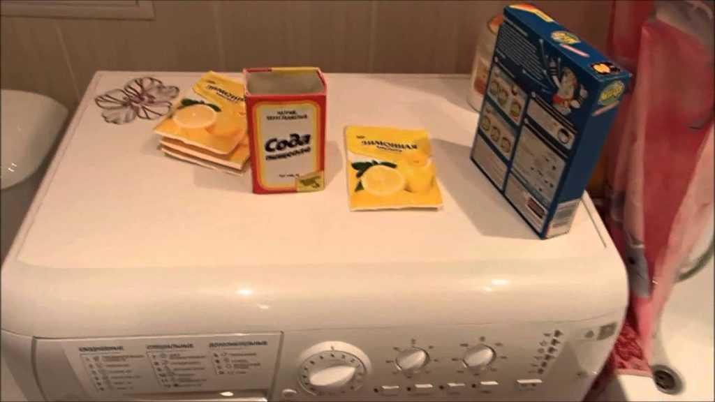 Как за 5 минут почистить стиральную машину от грязи и накипи применяя домашние средства Очистка тэна стиральной машины в домашних условиях