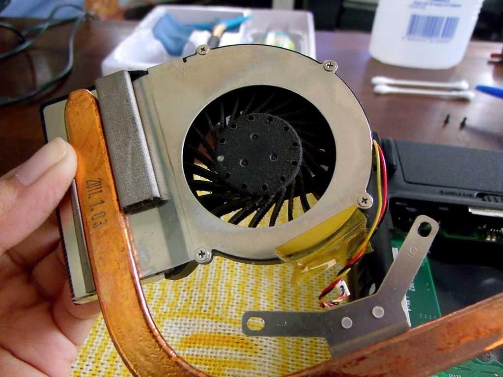 Как почистить ноутбук от пыли: чистка вентилятора (кулера) и компоненотов