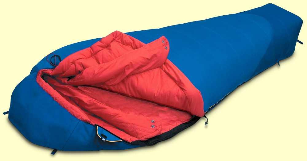 Как выбрать спальный мешок для путешествий: главные параметры