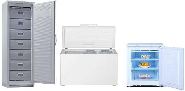 13 лучших морозильных камер