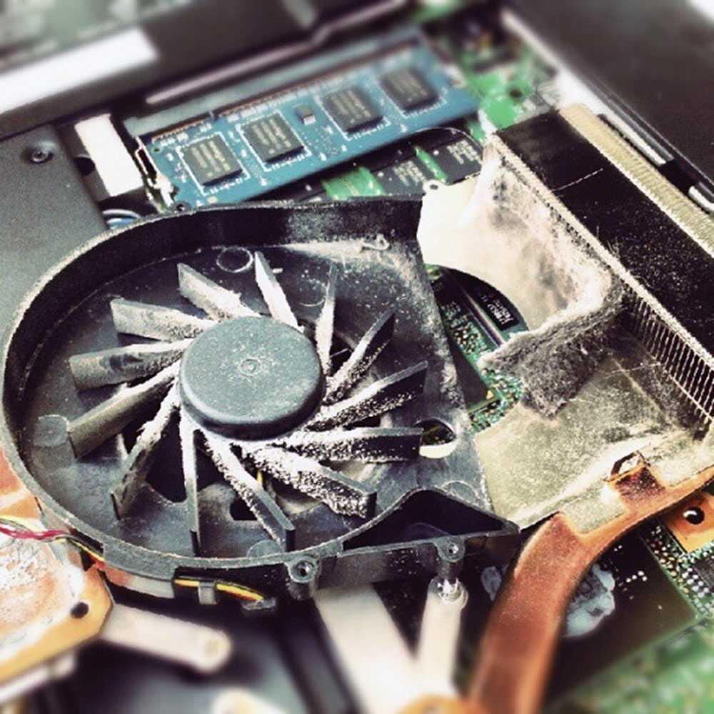 Как почистить кулер ноутбука от пыли в домашних условиях: когда и как производить чистку