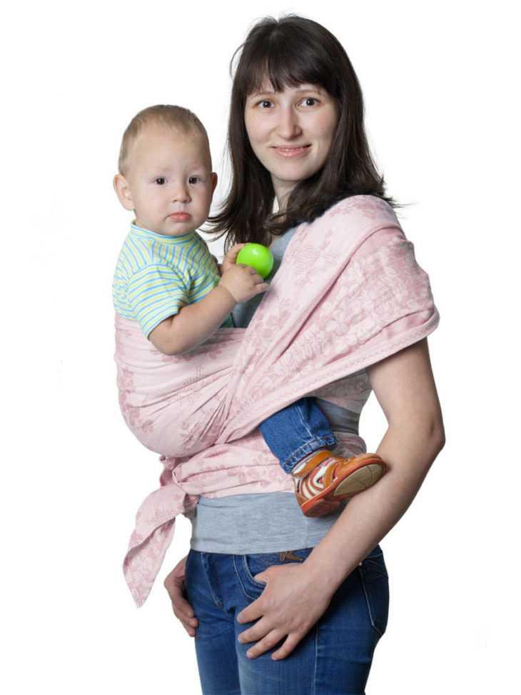 Слинг для новорожденных: какой лучше выбрать и как носить малыша от 0 до 6 месяцев