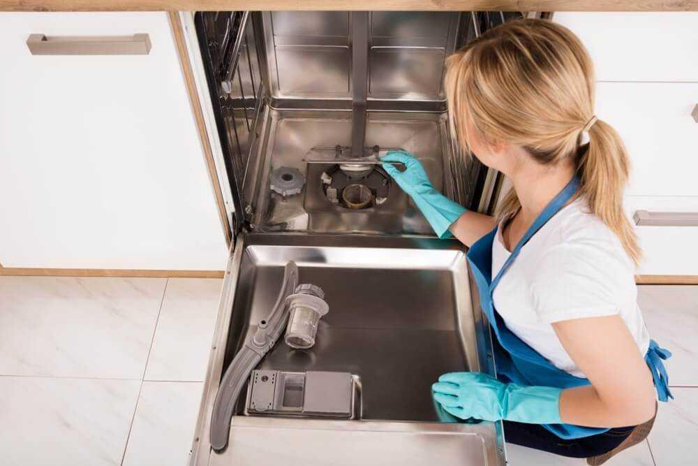 Как почистить посудомоечную машину в домашних условиях. как почистить посудомоечную машину: избавляемся от жира и накипи в домашних условиях
