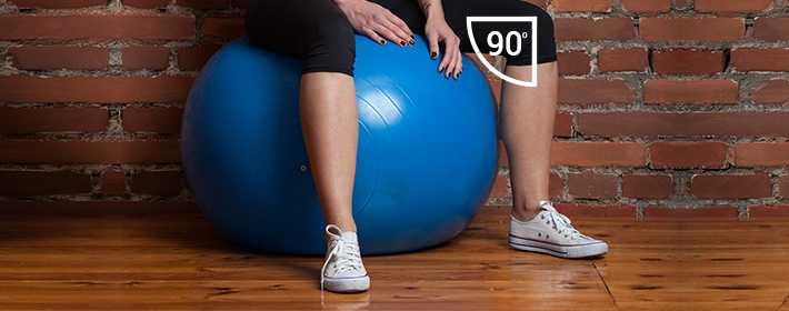 Выбираем мяч для фитнеса по правильным параметрам