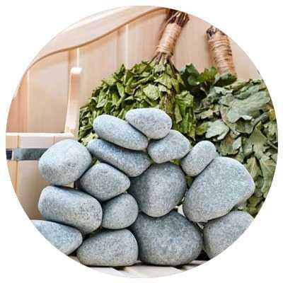 Какие камни для бани лучше выбрать: виды камней и их характеристики + рекомендации по использованию