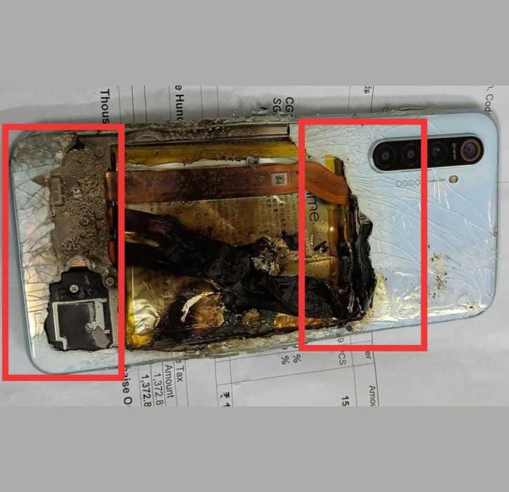 Смартфон - главный конкурент xiaomi взорвался спустя сутки после покупки и чуть не убил хозяина. фото - cnews