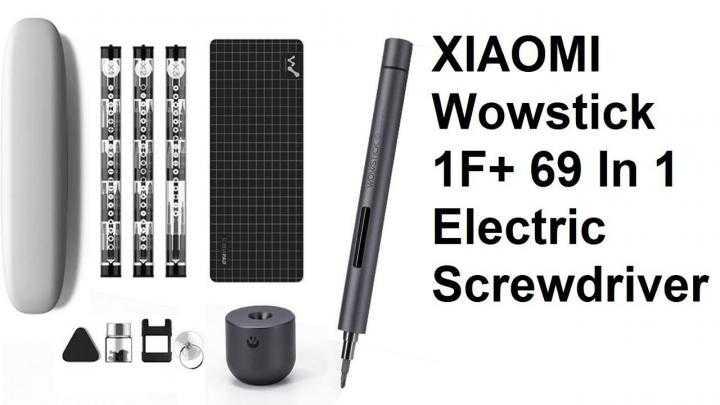 Xiaomi сделала волшебную отвёртку. обзор wowstick f1 с aliexpress