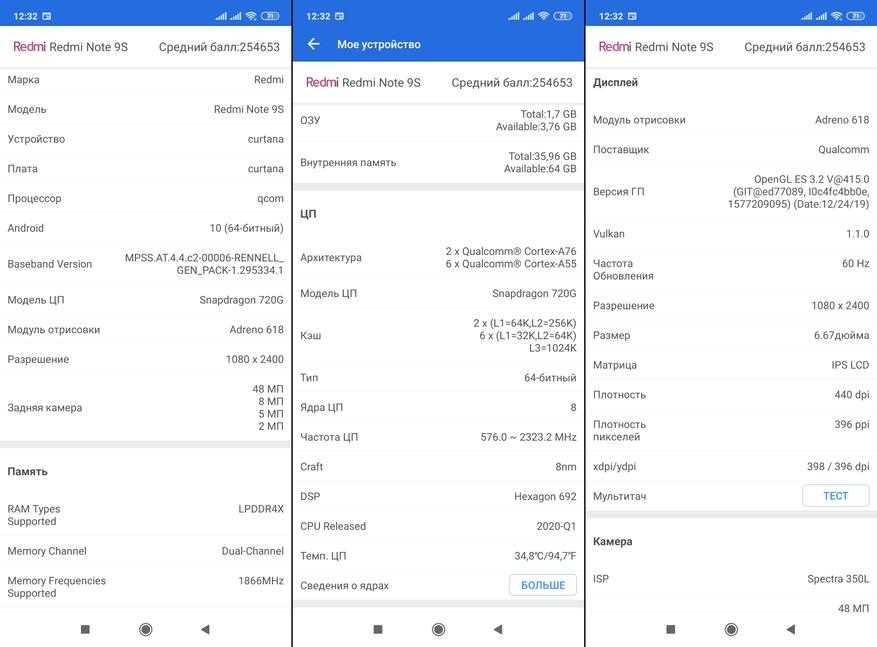 Глобальная версия redmi note 9 будет работать на процессоре snapdragon