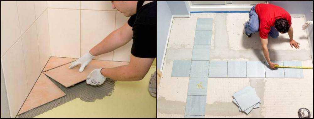 Как класть плитку в ванной: пошаговое руководство по правильной укладке