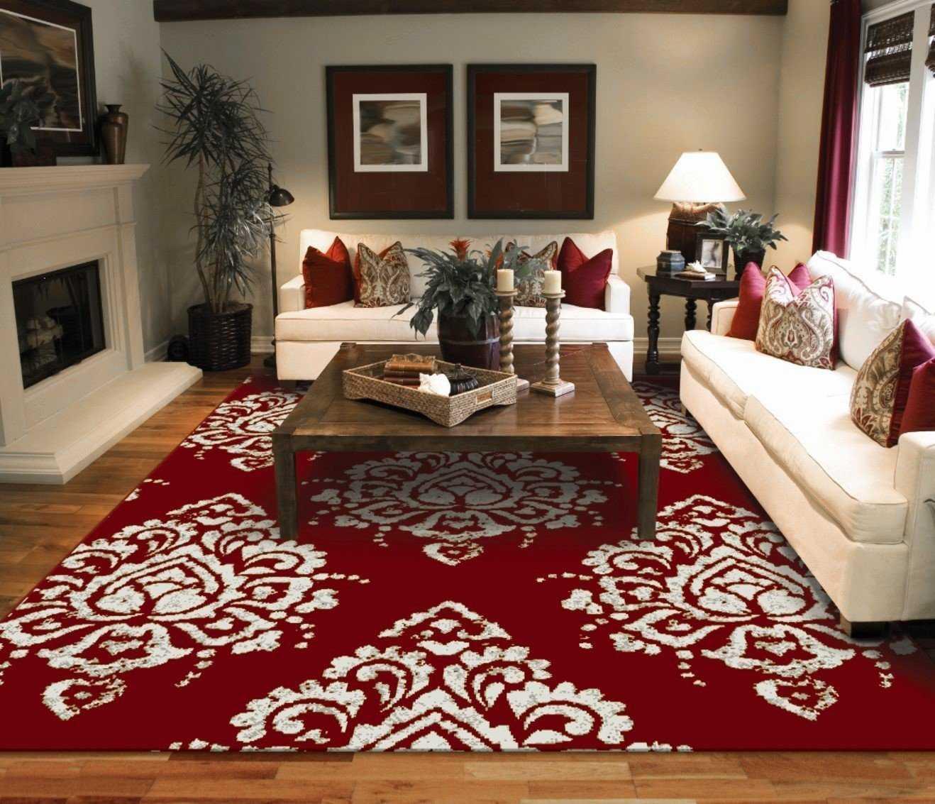 Как подобрать ковёр к интерьеру с фото