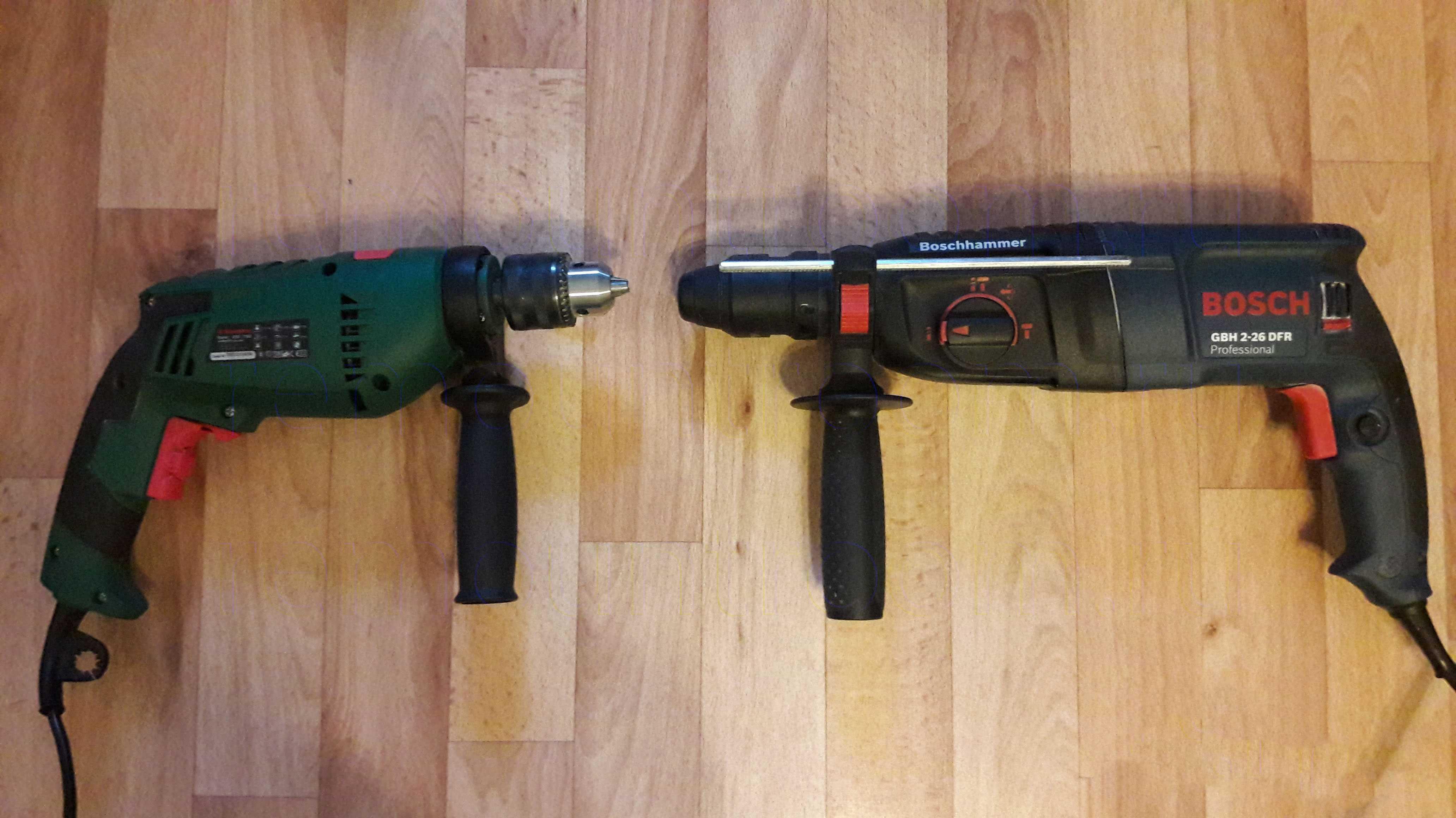 Сегодня мы разберемся как выбрать хороший перфоратор для дома и работы по основным его характеристикам выясним отличия между ударной дрелью и перфоратором