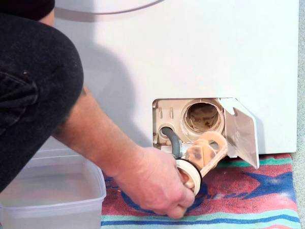 Несложная инструкция, как почистить фильтр в стиральной машине самсунг