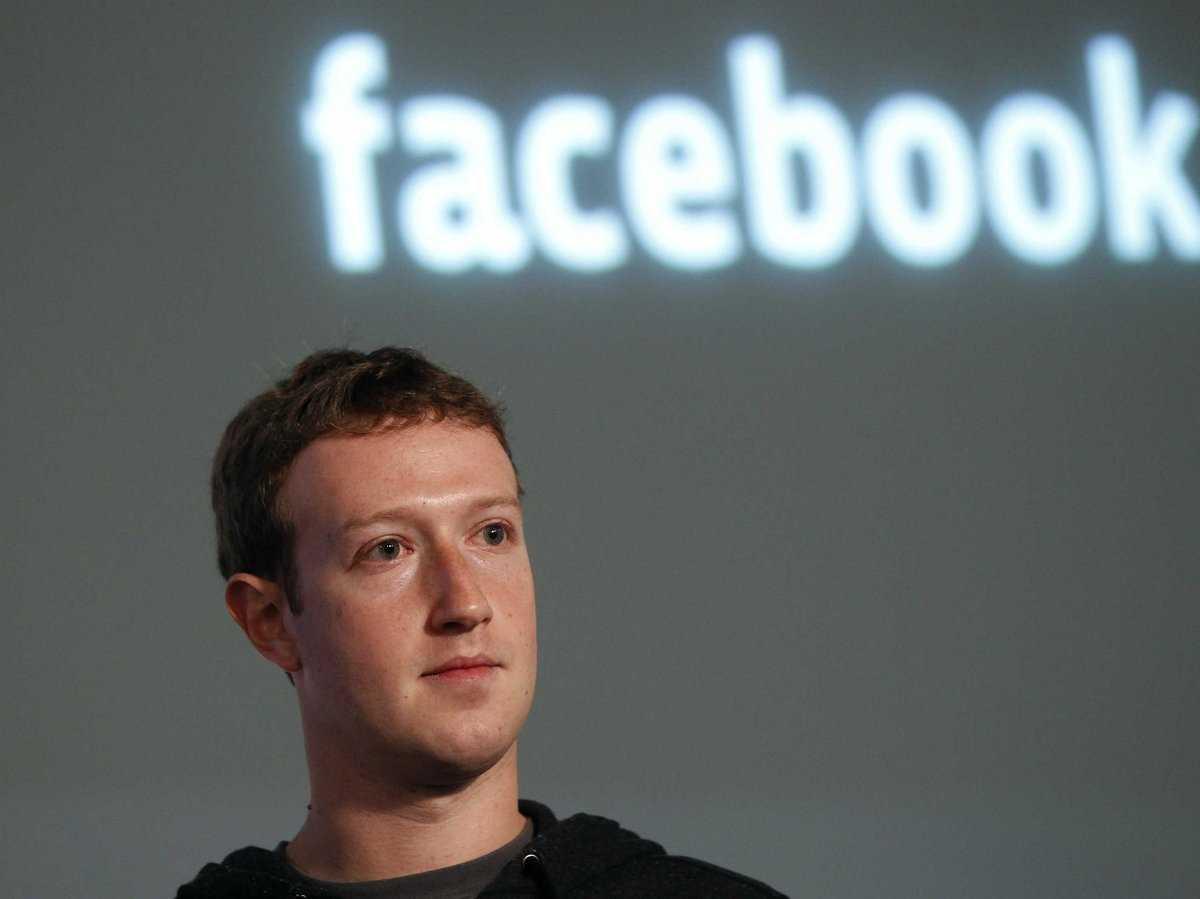 История facebook