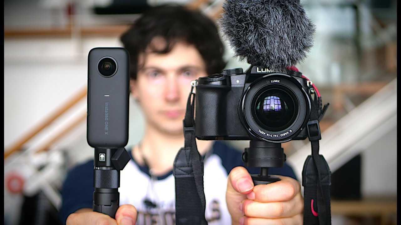 Insta360 one r с оптикой leica