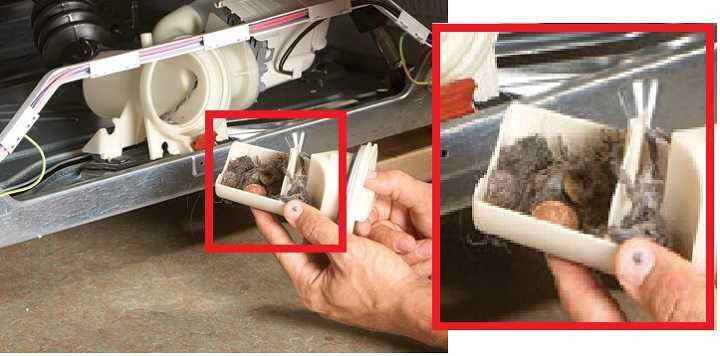 Что будет, если не чистить фильтр стиральной машины?