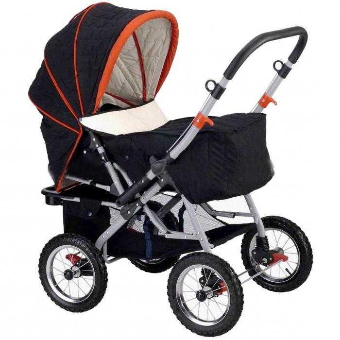 Как выбрать коляску на зиму новорожденному