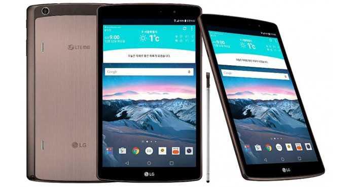 Планшеты lg g pad 10.1, lg g pad 8.0 и lg g pad 7.0 - обзор