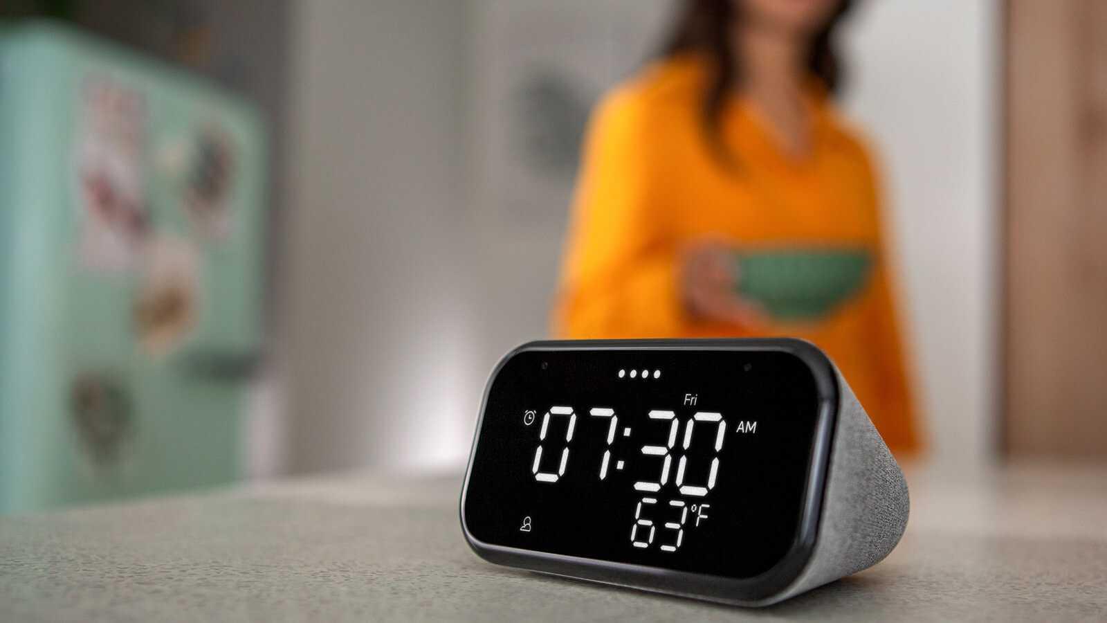 Обзор: ложитесь спать с google assistant с lenovo smart clock