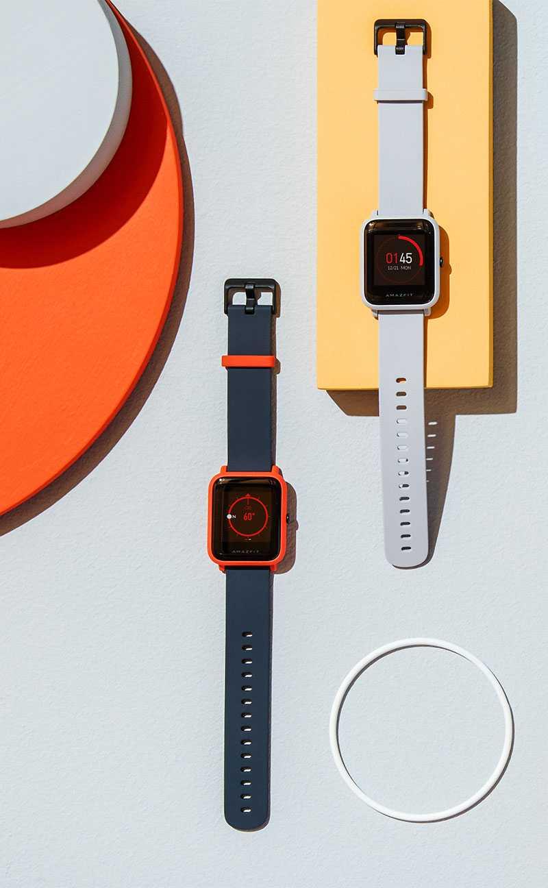 Amazfit x — умные часы с изогнутым экраном