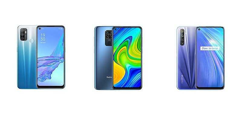 Сразу же за премиальной версией Redme 6 компания OPPO раскрыла возможности классической версии смартфона Даже по фото можно понять что внешних отличий между девайсами