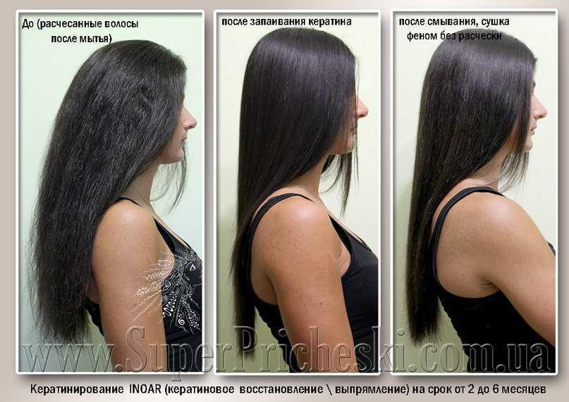 Выпрямление волос на долгий срок: названия методов и средств, эффективность, цена, отзывы , фото до и после