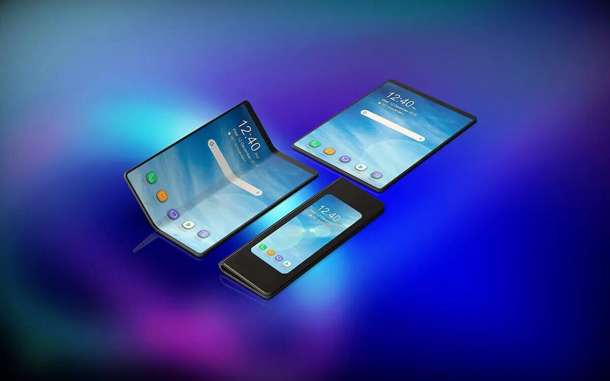 В россии стартуют продажи смартфонов samsung galaxy fold с гибким экраном