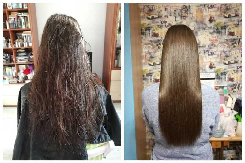 5 видов долговременного выпрямления волос