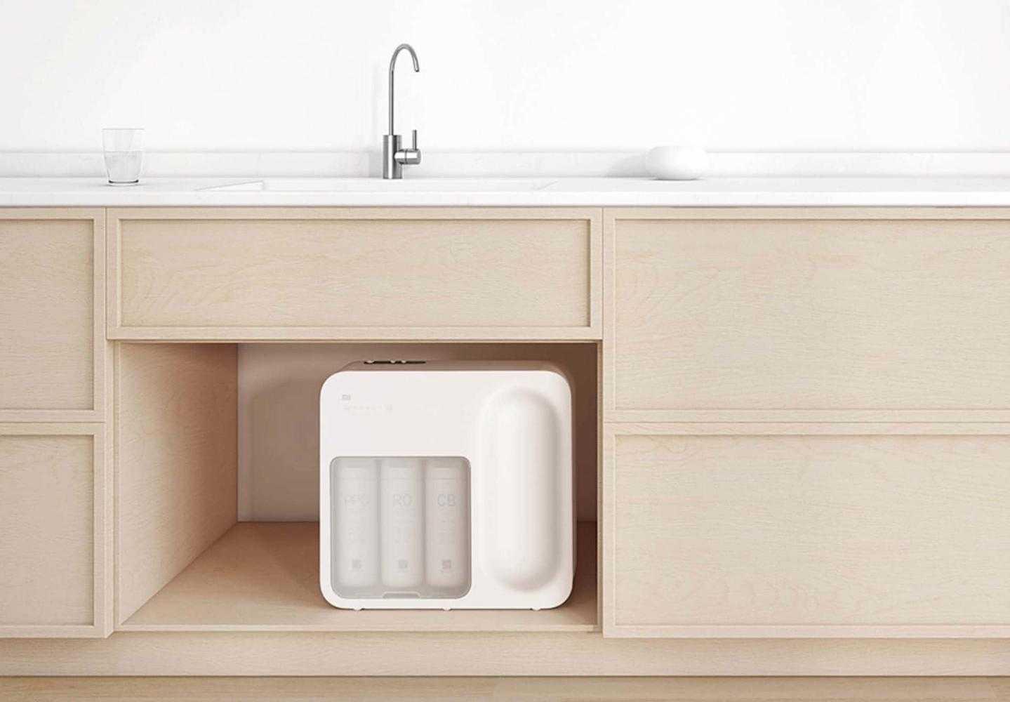 Китайская компания Xiaomi анонсировала новый очиститель воды получивший название Mi Water Purifier