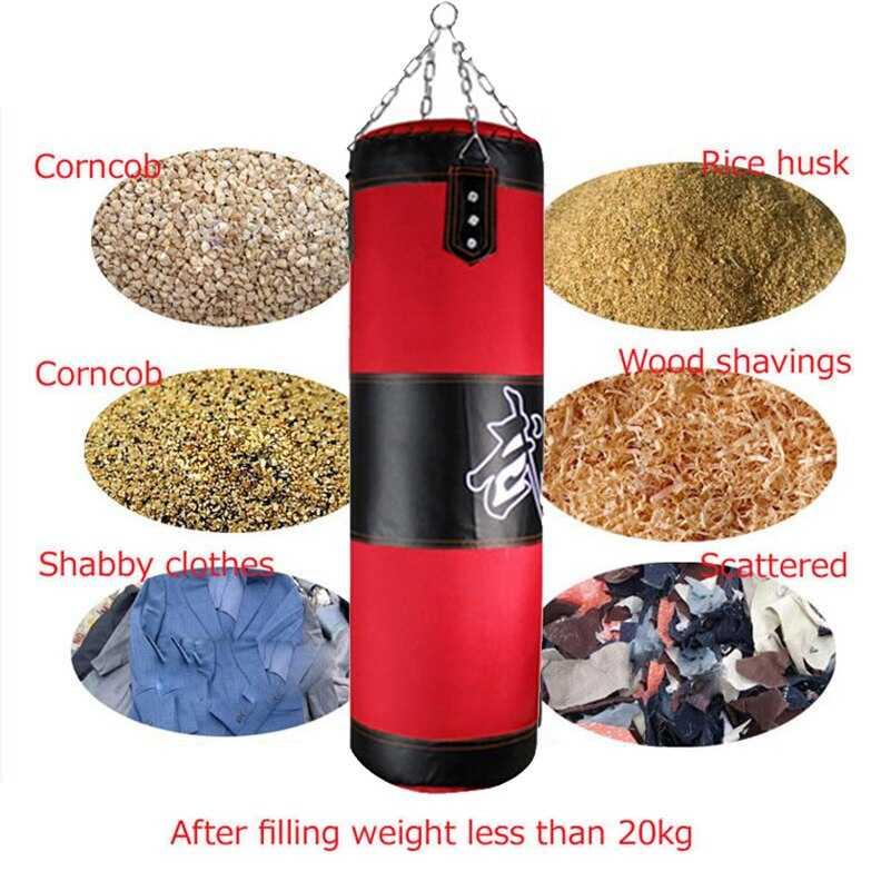 Как подобрать боксёрский мешок по весу: правильно выбрать