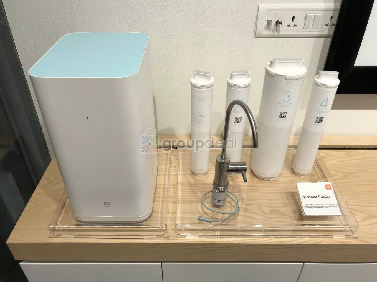 В день презентации новых смарт-телевизоров компания Xiaomi решила порадовать поклонников своей продукции еще и очистителем воды который получил название MiSmart