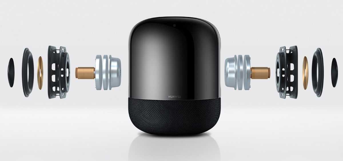 Huawei sound x. «умная» колонка