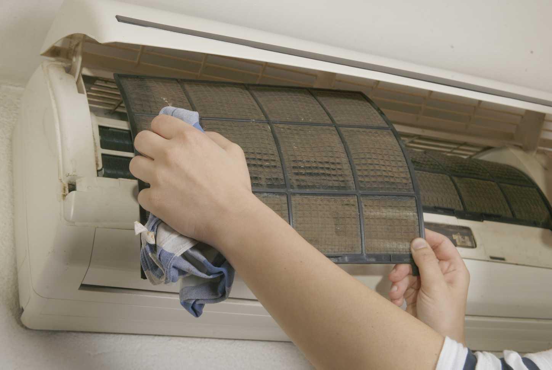 Как почистить кондиционер в домашних условиях