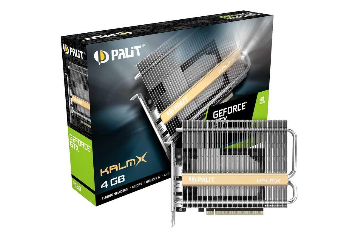 Обзор видеокарты palit geforce gtx 1650 kalmx: абсолютный ноль / видеокарты