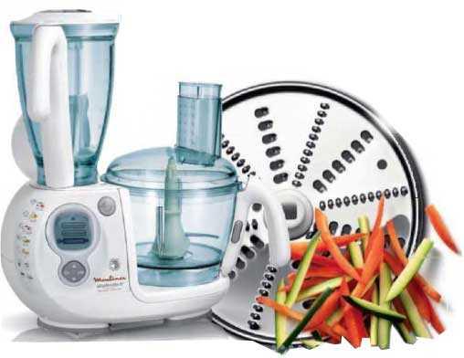 Кухонный комбайн является универсальным прибором с помощью которого можно шинковать измельчать смешивать нарезать разные продукты питания За счет такой техники