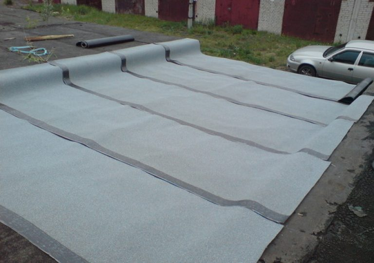 Как сделать и чем покрыть крышу на гараже