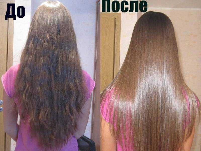 Профессиональное выпрямление волос в салонах и в домашних условиях