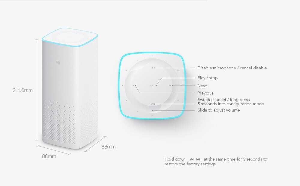 Умная портативная колонка от xiaomi — mi ai speaker mini