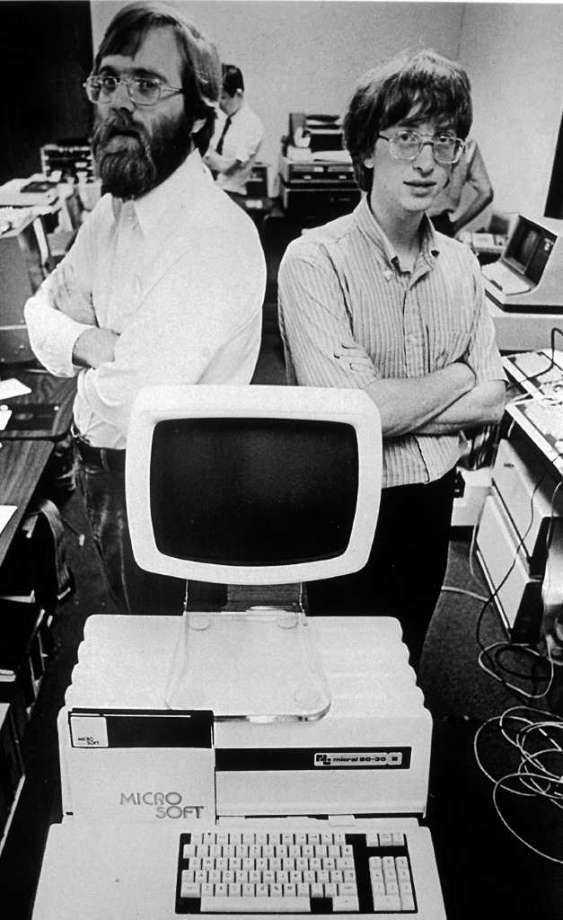История создания microsoft. как билл гейтс изменил мир к лучшему