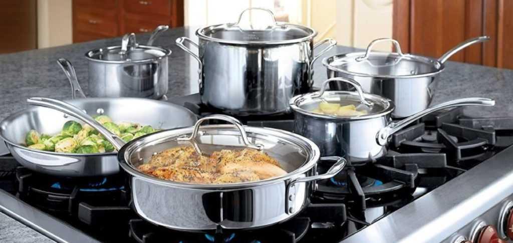 Посуда из нержавеющей стали - рейтинг лучших наборов по качеству, производителям и стоимости